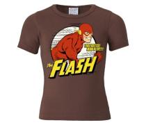 T-Shirt Der Rote Blitz -DC -Flash -The Fastest Man Alive braun
