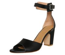 Sandalette mit Fesselriemchen beige