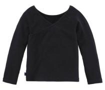 3/4-Arm Shirt für Mädchen schwarz