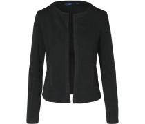 Blazer 'Structured Jersey' schwarz