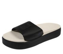 Pantolette 'Platform Slide' schwarz