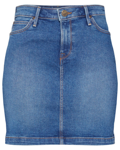 Jeans Minirock blue denim