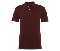 Klassisches Poloshirt burgunder