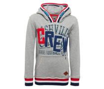 Kapuzensweater 'Nevy' graumeliert