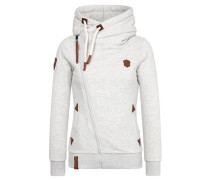 Zipped Jacket 'Family Biz Viii' hellgrau