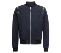 Jacke 'jacket With Zipped Sleeves'