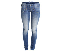 Slim Fit Jeans 'Pitch' blau