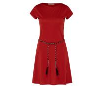 Kleid 'Salome' rubinrot