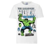 "T-Shirt ""Hulk"" weiß"