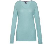 Pullover »Gira V-Nk Swtr« blau