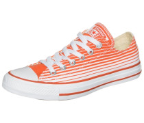 Chuck Taylor All Star OX Sneaker dunkelorange / weiß