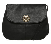 Mini Bag aus Leder 'Totally Royal Party' schwarz