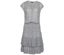 Kleider »Ellis Dress SS« grau / weiß