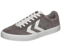 Diamant Suede Sneaker grau / weiß