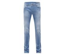 'Sleenker' Jeans hellblau