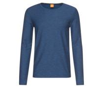Langarmshirt 'Types' dunkelblau