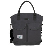 Sport Shopper Tasche 33 cm grau / schwarz