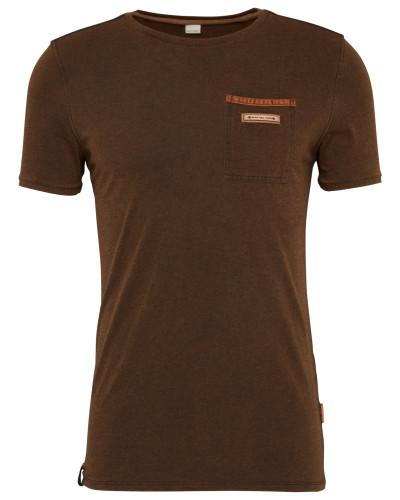 T-Shirt 'Suppenkasper' dunkelbraun