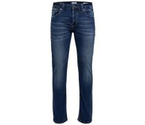 Skinny Fit Jeans 'Loom Camp' blau