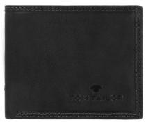 'Terry' Querformat Geldbörse Leder 105 cm schwarz