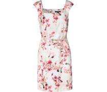 Kurzes Sommerkleid mischfarben / weiß