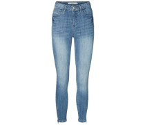 Skinny Fit Jeans 'Lux HW Ankle' blue denim
