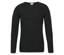 Pullover 'RH structur' schwarz