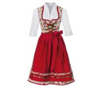 Dirndl 'Iria' rot / weiß