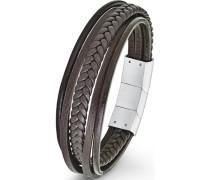 Armband »So1461/1« braun
