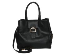 Handtasche im Leder-Look 'pcluna' schwarz