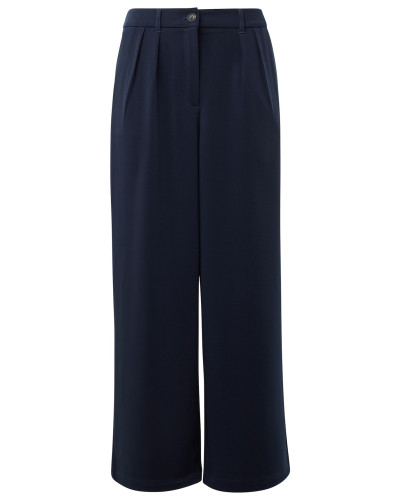 Culotte in Ankle-Länge dunkelblau