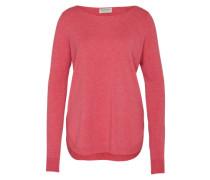 Woll-Pullover mit Kaschmir-Anteil pink