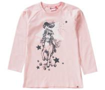Langarmshirt 'tallys' rosa