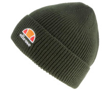 Beanie oliv / orange / orangerot