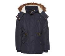 Parka 'cute parka with gold details' navy