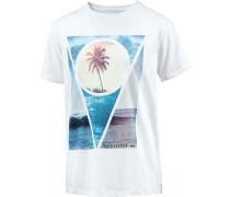 Sections T-Shirt blau / weiß