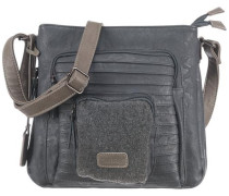 Handtasche blau / grau