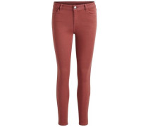 7/8-Skinny Fit Jeans rot