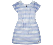 Dress »DG Zigzag Stripe Dress S/s« rauchblau / weiß