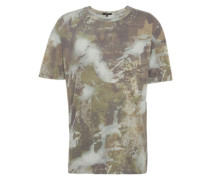 T-Shirt 'Arne' beige / grau / khaki