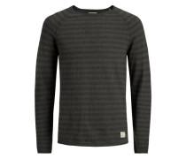 Pullover Waffel-Webung Raglan