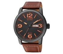 Armbanduhr 'bm8476-07Ee' braun / schwarz