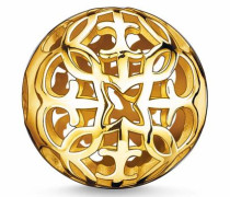 Bead 'Karma Bead Ornament K0056-413-12' gold