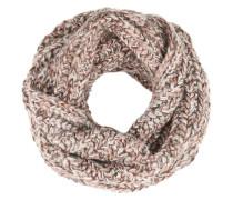 Strickschal 'Chloe' graumeliert / rosé