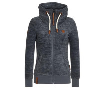 Zipped Jacket 'Redefreiheit? Iii' indigo