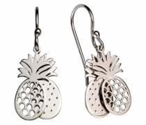 Paar Ohrhaken 'Ananas' silber
