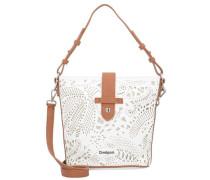 Bols Handtasche 21 cm kupfer / weiß