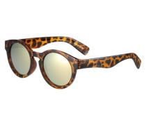Sonnenbrille 'Tres chic' braun