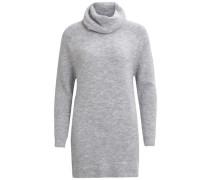 Strick Pullover graumeliert