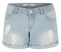 Jeansshorts 'LW Detailed' hellblau